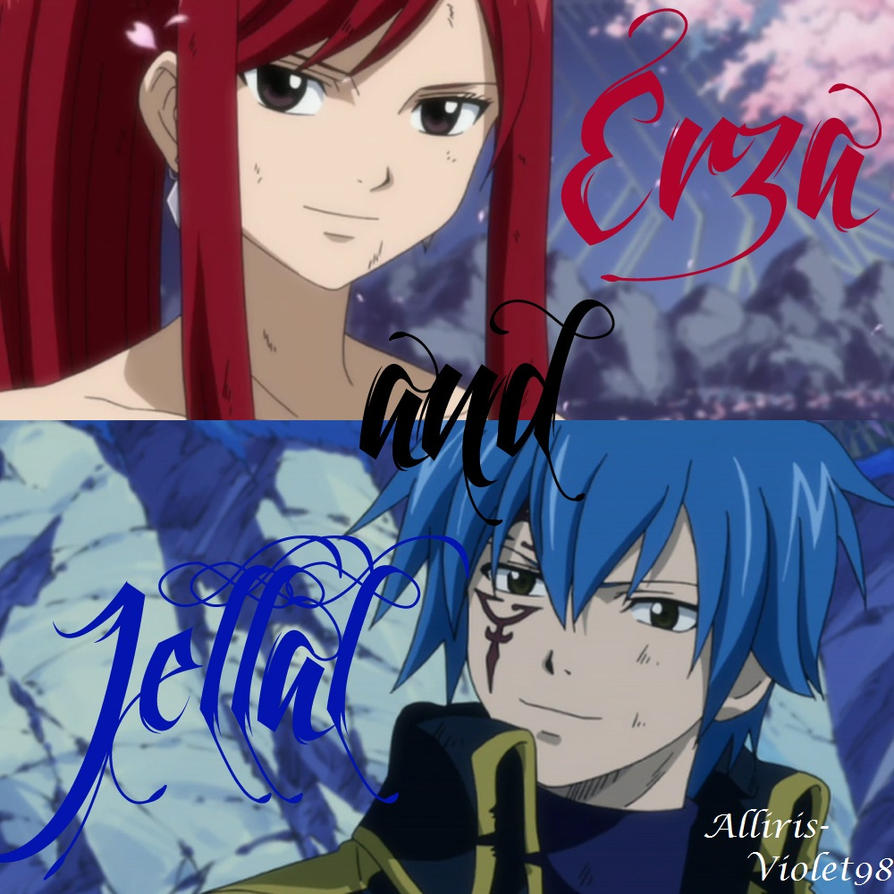 FT Erza and Jellal by Alliris-Violet98 on DeviantArt