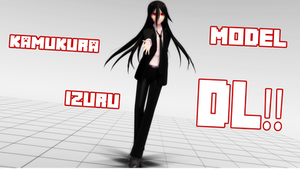 [[ MMD ]] Kamukura Izuru Model DL!! by mikiezzchan