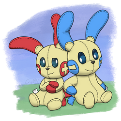 Plushle Pals by CrizBN