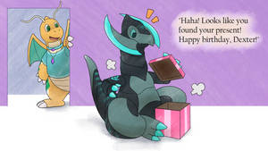 A Dragon-Type Mystery Gift