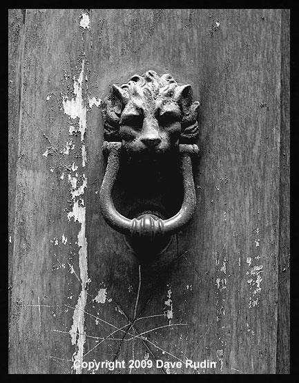 Door Knocker, Rome, 2009 by DaveR99