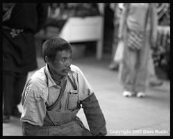Pilgrim, Lhasa, Tibet, 2007