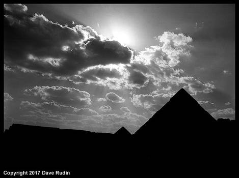 The Pyramids of Giza, Egypt, 2017