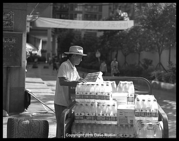 Man with Hat, Chendgu, China, 2016 by DaveR99