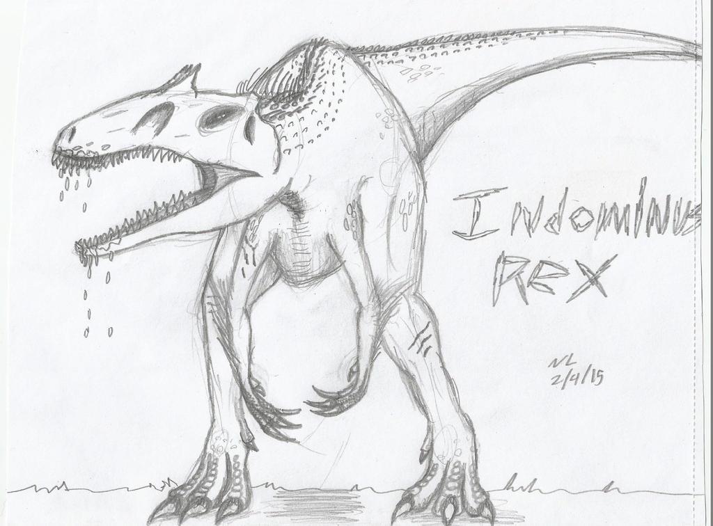 Indominus Rex by Nikkusangheili33