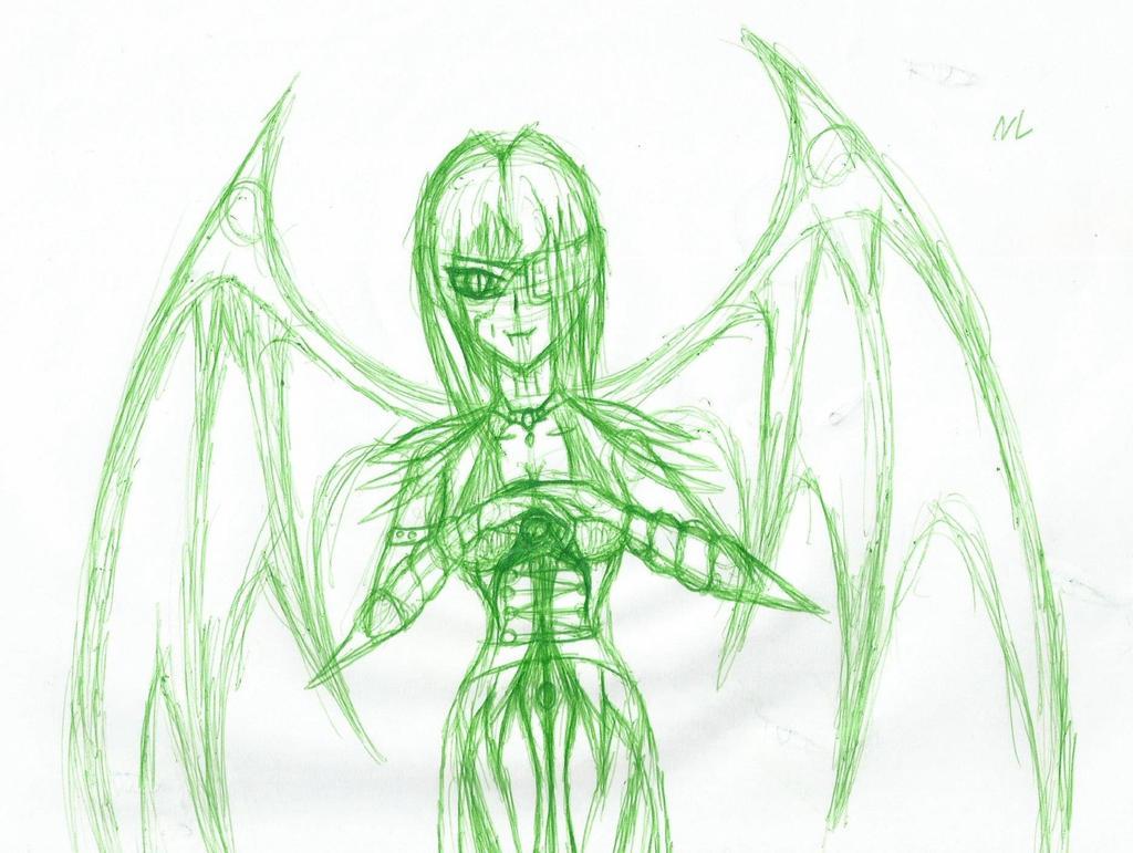 Vampire Doodle by Nikkusangheili33