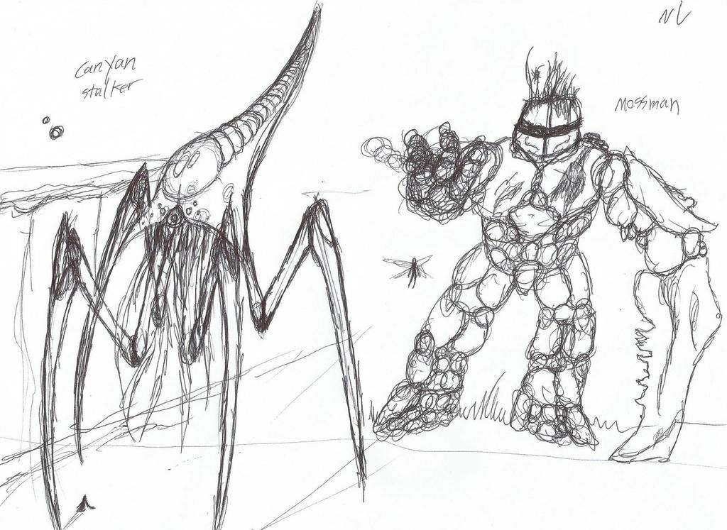 Shelter doodles by Nikkusangheili33