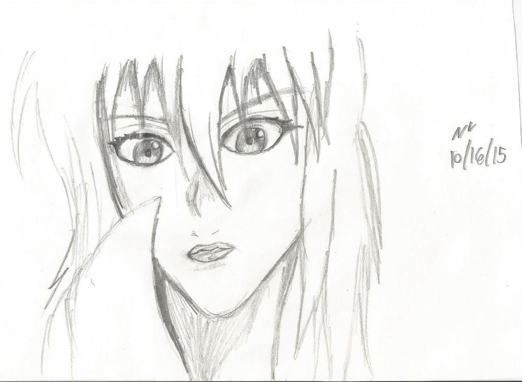 Motoko Face by Nikkusangheili33