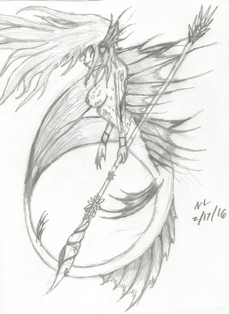 Mermadic Sage by Nikkusangheili33