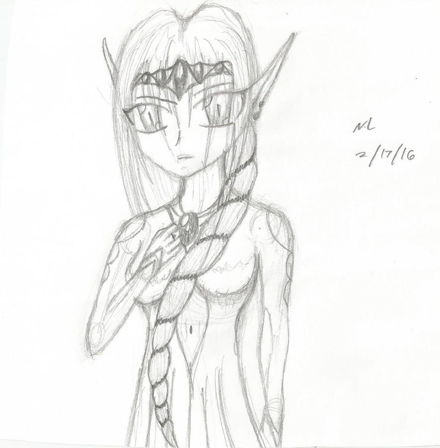 Elven Princess by Nikkusangheili33