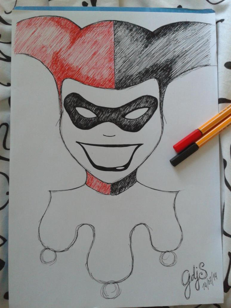 Harley Quinn by Gdjs23