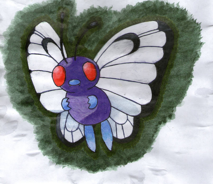 Butterfree by twilightlinkjh