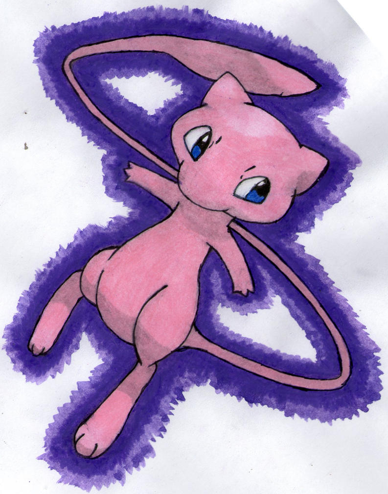 Mew by twilightlinkjh