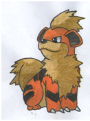 Growlithe by twilightlinkjh