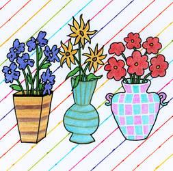 Spring Flowers by twilightlinkjh