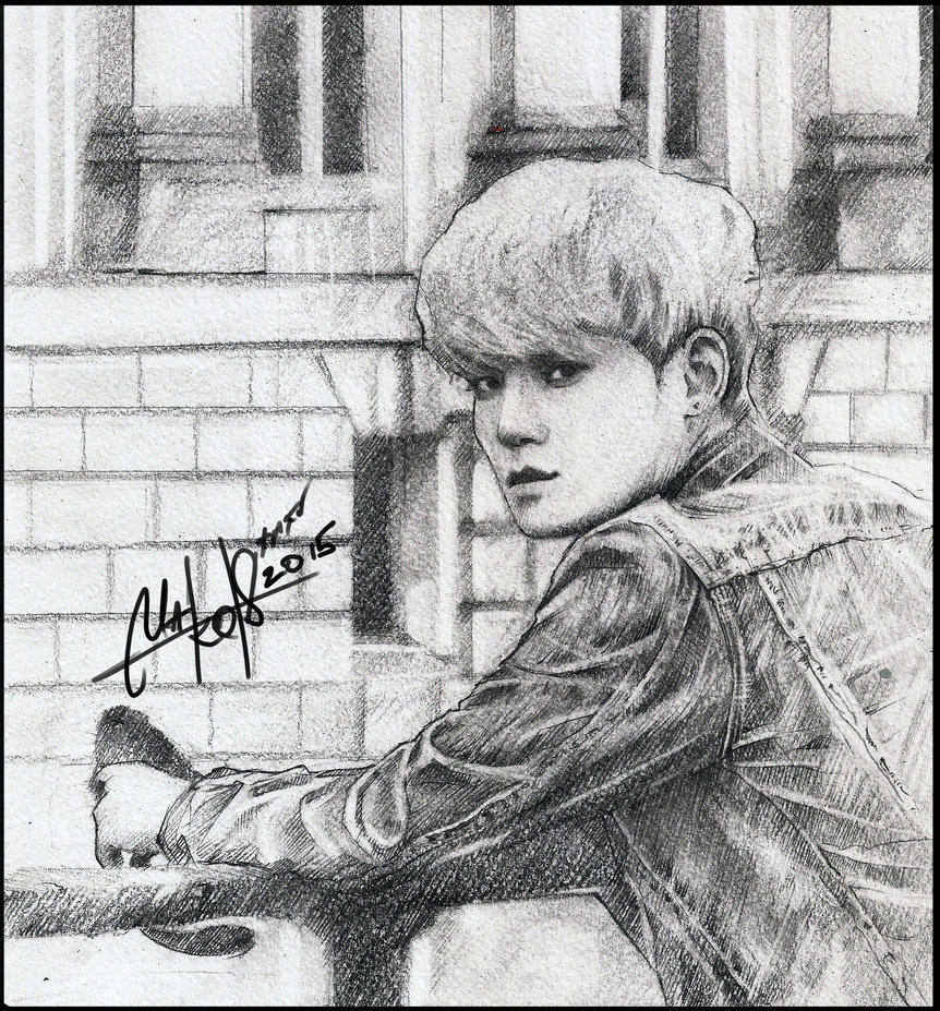 CHEN(EXO) SKETCH by RainyMary
