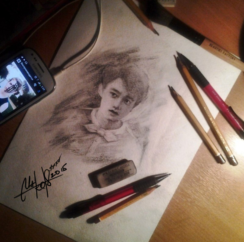 D.O(EXO) SKETCH by RainyMary