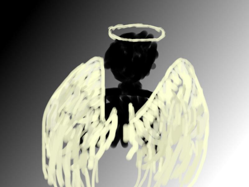 angel digital art bleh by k-i-w-i-t-u-r-t-l-e