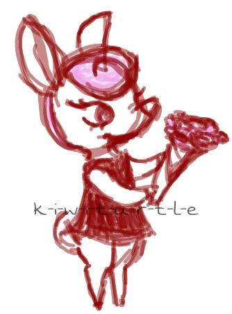 Roses from Diana [rough sketch] by k-i-w-i-t-u-r-t-l-e