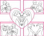 Draw the squad_valentine's day version