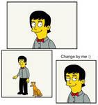 Simpsonized Paul