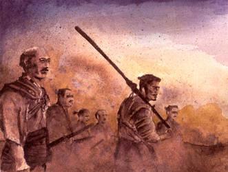 Seven Samurai by eliasofthesea