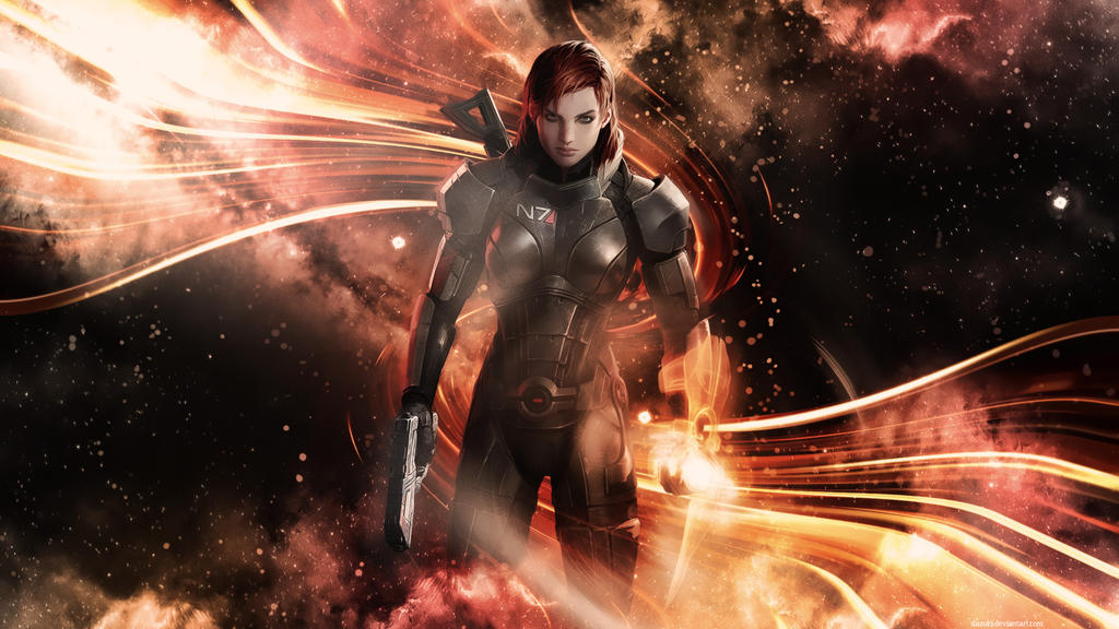 Mass Effect 3 Commander Jane Shepard by DazUki