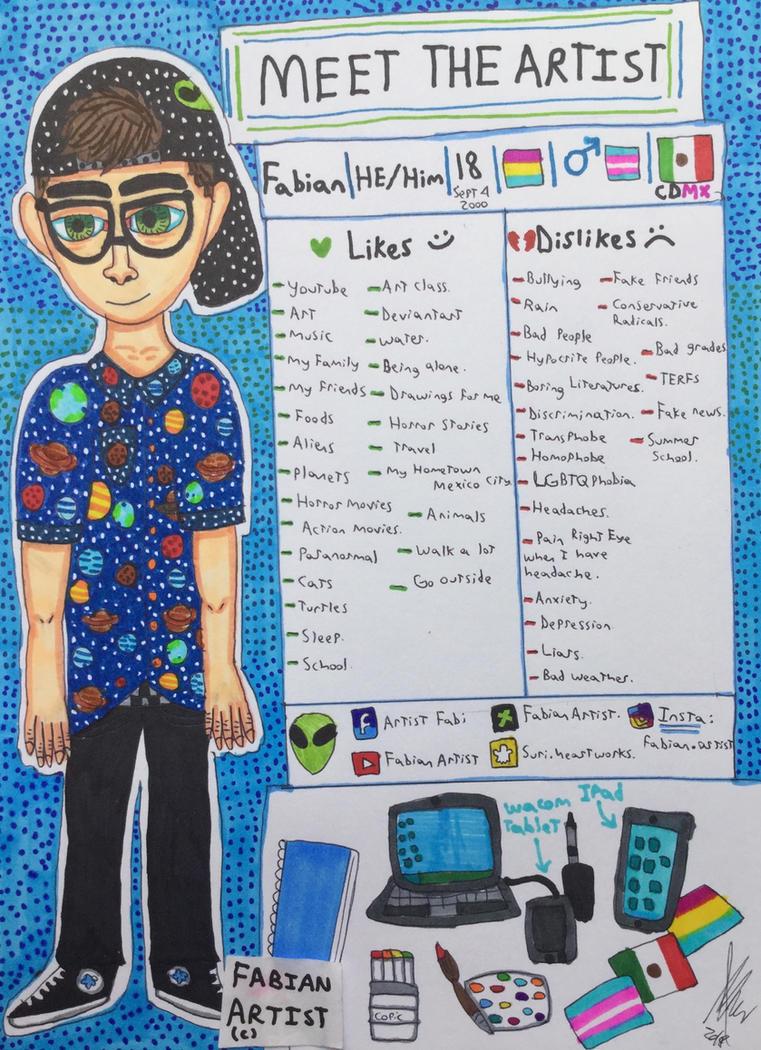 Meet the Artist 2018 by FabianArtist