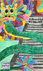 Quetzalcoatl by FabianArtist
