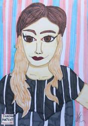 Ana Andrea Molina by FabianArtist