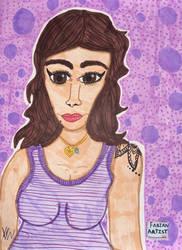 Carlyna Moore by FabianArtist