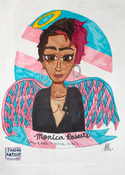 Monica Roberts by FabianArtist