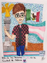 Dia de la Visibilidad Trans en la Ciudad de Mexico by FabianArtist