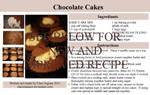 Chocolate Cakes Recipe