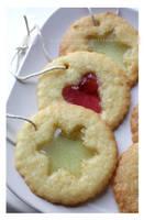 Stain Glass Window Cookies by claremanson
