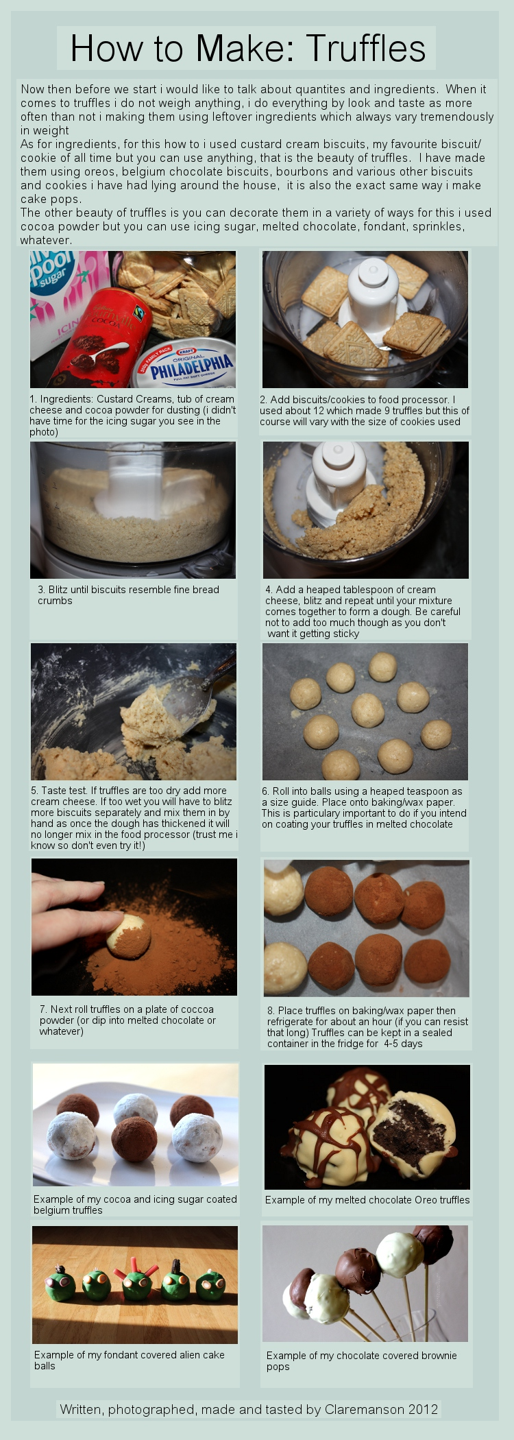 Cookie Truffle Tutorial by claremanson