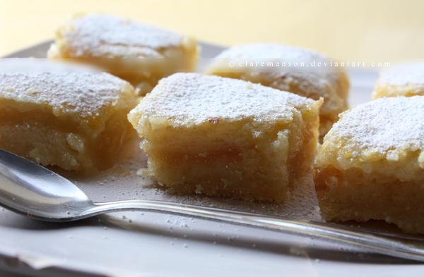 Lemon Bars by claremanson