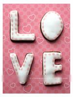 LOVE Cookies by claremanson