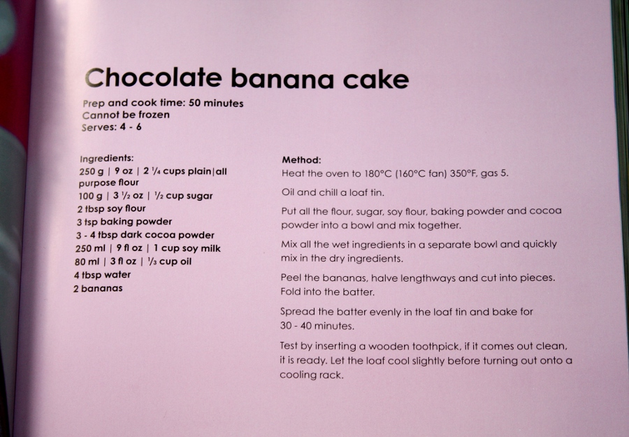 Chocolate Banana Cake Recipe by claremanson