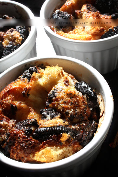 Oreo Bread Pudding by claremanson