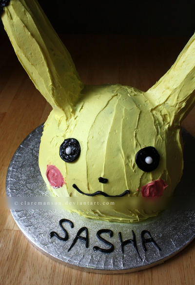 Pikachu The Giant Cake Ball Cake by claremanson