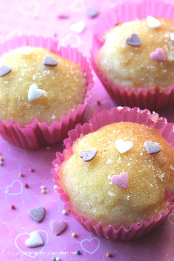 Jam Doughnut Muffins by claremanson