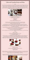 Basic Cake/Cupcake Recipe, Toppings and Ideas