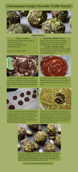 Simple Chocolate Truffle Tutorial by claremanson