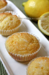 Lemon Drizzle Cupcakes (gluten and dairy free!)