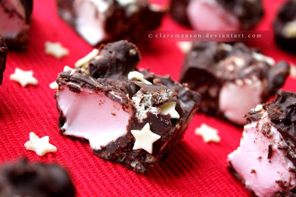 Santa's Rocky Road Bites by claremanson