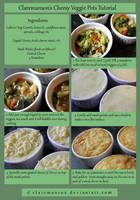 Cheesy Veggie Pots Tutorial by claremanson