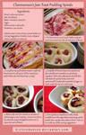 Jam Toast Pudding Spirals Tutorial