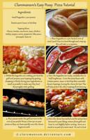 Easy Peasy Pizza Tutorial by claremanson