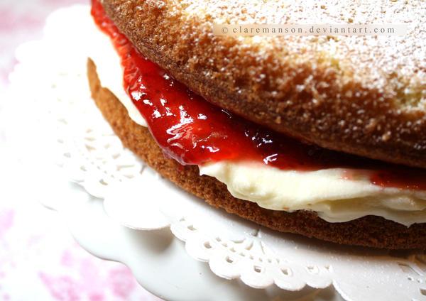 Victoria Sponge Cake by claremanson